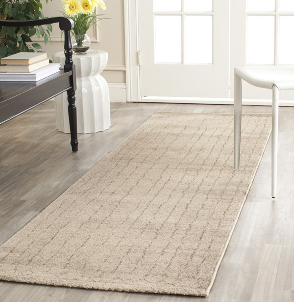 Ivory (KMK) Casual Area Rug