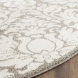 Product Image of Dark Grey, Beige (R) Damask Area Rug