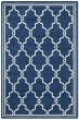 Product Image of Moroccan Navy, Beige (P) Area Rug