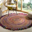 Product Image of Ivory, Red (A) Bohemian Area Rug