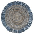 Product Image of Bohemian Ivory, Denim (D) Area Rug