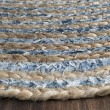 Product Image of Natural, Blue (A) Natural Fiber Area Rug