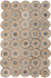 Product Image of Bohemian Blue, Natural (M) Area Rug