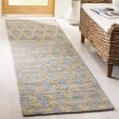 Product Image of Light Blue, Gold (A) Bohemian Area Rug