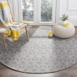Product Image of Grey, Gold (A) Geometric Area Rug