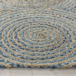 Product Image of Natural, Blue (A) Bohemian Area Rug