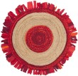 Product Image of Bohemian Red, Natural (Q) Area Rug