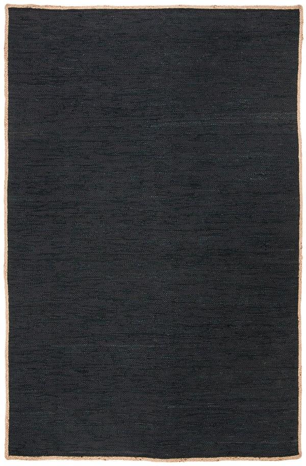 Black, Natural (Z) Natural Fiber Area Rug