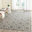 Product Image of Grey, Silver (K) Transitional Area Rug