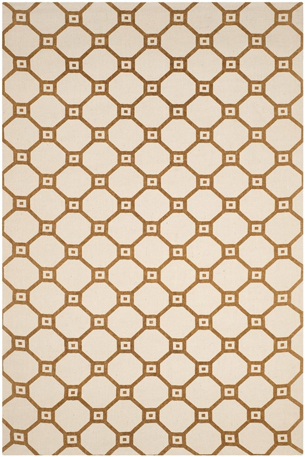 Ivory, Gold (A) Transitional Area Rug