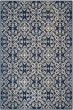 Product Image of Contemporary / Modern Navy, Natural (A) Area Rug