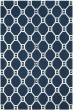 Product Image of Transitional Navy, Silver (M) Area Rug