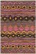 Product Image of Southwestern / Lodge Brown, Pink (C) Area Rug