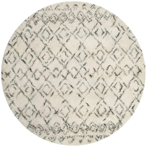 Ivory, Grey (A) Southwestern / Lodge Area Rug