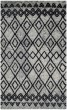 Product Image of Southwestern / Lodge Grey, Charcoal (K) Area Rug