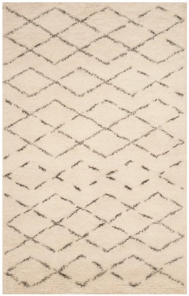 Ivory, Grey (B) Transitional Area Rug