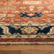 Product Image of Rust, Navy (A) Traditional / Oriental Area Rug