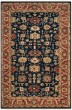 Product Image of Traditional / Oriental Navy, Rust (B) Area Rug