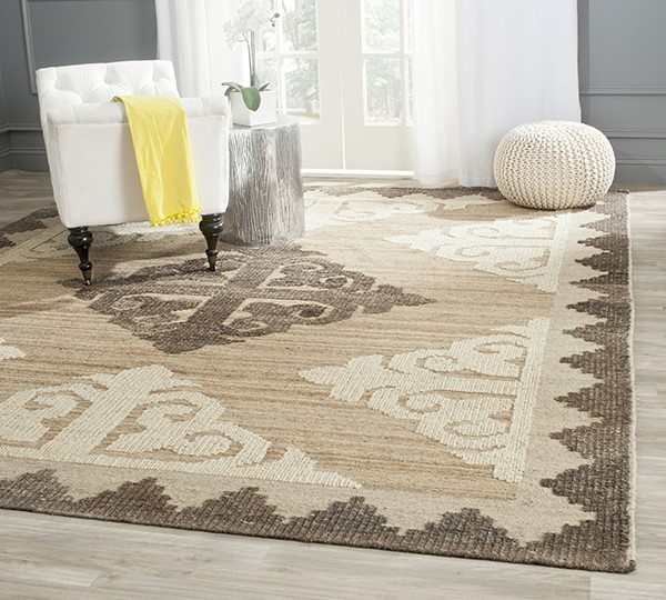 Brown, Charcoal (A) Moroccan Area Rug