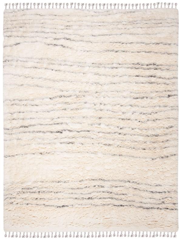 Ivory, Grey (A) Natural Fiber Area Rug
