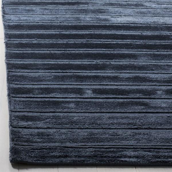 Navy, Blue (A) Casual Area Rug