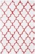 Product Image of Moroccan White, Rust (E) Area Rug