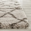 Product Image of Taupe, Grey (D) Shag Area Rug