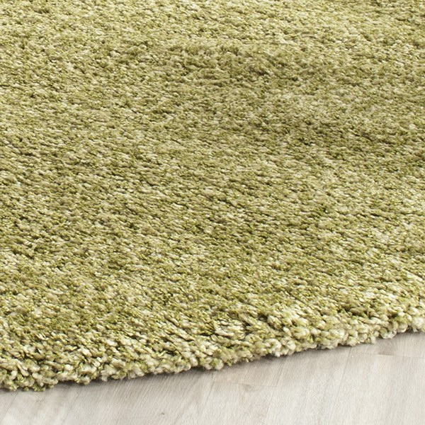 Green (5252) Solid Area Rug