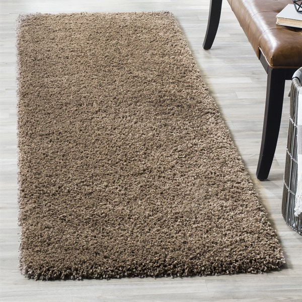 Taupe (2424) Solid Area Rug