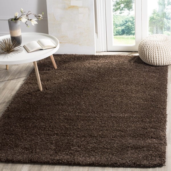 Brown (2727) Solid Area Rug