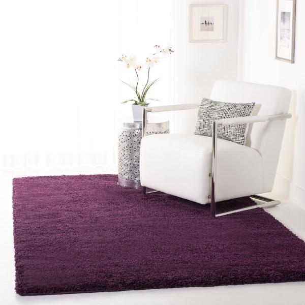 Purple (7373) Solid Area Rug