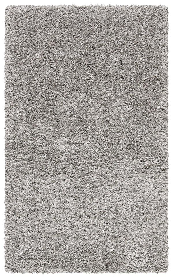 Silver (7575) Solid Area Rug