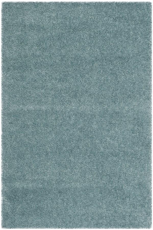 Light Blue (D) Solid Area Rug