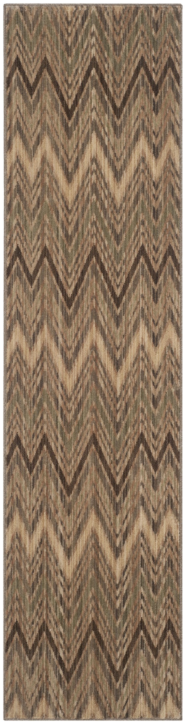 Taupe, Beige (A) Contemporary / Modern Area Rug
