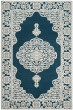 Product Image of Traditional / Oriental Dark Blue, Ivory (D) Area Rug