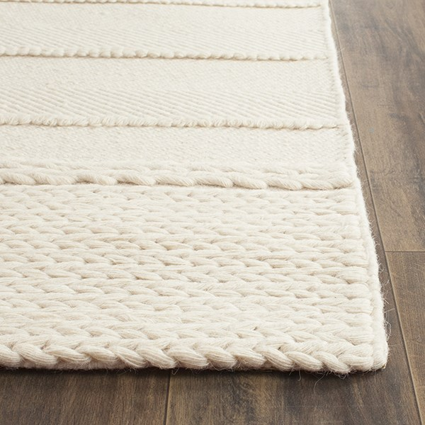 Natural (A) Striped Area Rug