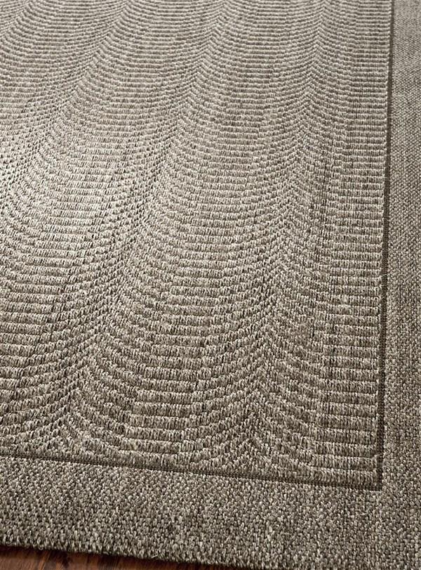 Silver (D) Rustic / Farmhouse Area Rug