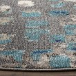 Product Image of Grey, Light Blue (E) Contemporary / Modern Area Rug