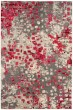 Product Image of Contemporary / Modern Grey, Fuchsia (R) Area Rug