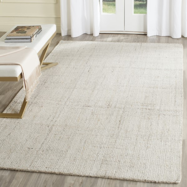 Ivory (D) Contemporary / Modern Area Rug