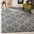 Product Image of Ivory, Dark Grey (A) Rustic / Farmhouse Area Rug
