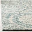 Product Image of Ivory, Blue (A) Mandala Area Rug