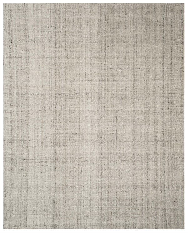 Light Grey (E) Rustic / Farmhouse Area Rug