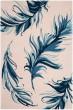 Product Image of Floral / Botanical Beige, Blue (E) Area Rug