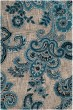 Product Image of Paisley Grey, Blue (B) Area Rug