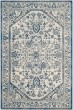 Product Image of Traditional / Oriental Silver, Blue (C) Area Rug