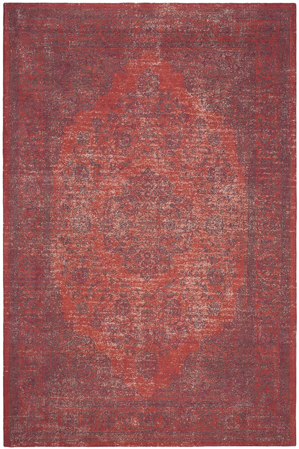 Red (B) Vintage / Overdyed Area Rug