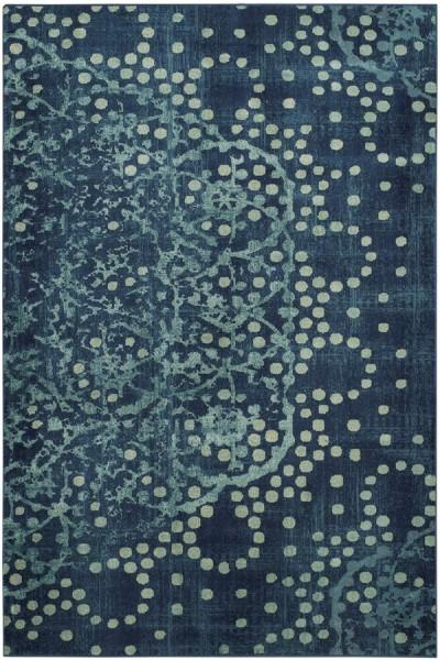 Blue (2330) Contemporary / Modern Area Rug