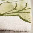 Product Image of Ivory, Light Green (B) Floral / Botanical Area Rug