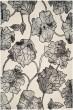 Product Image of Floral / Botanical Ivory, Light Grey (C) Area Rug